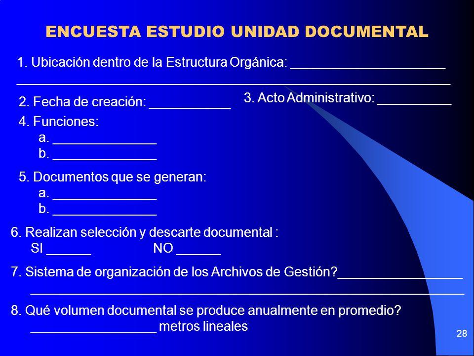 28 ENCUESTA ESTUDIO UNIDAD DOCUMENTAL 1.