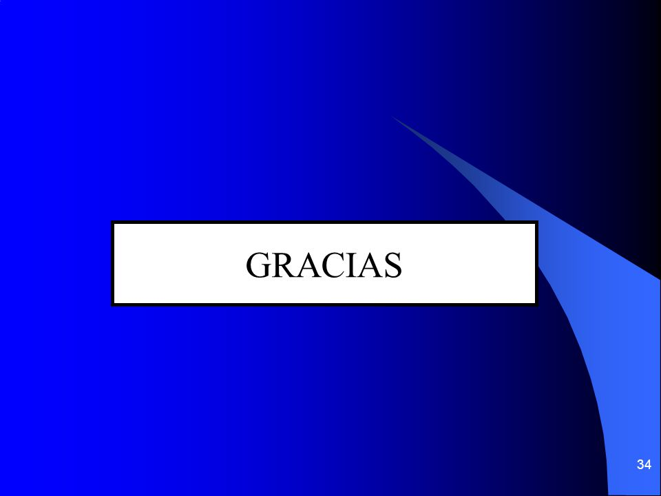 34 GRACIAS