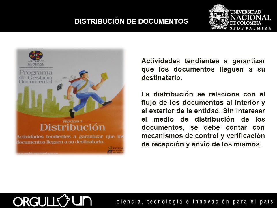 Curso del documento desde su producción o recepción hasta el cumplimiento de su función administrativa.