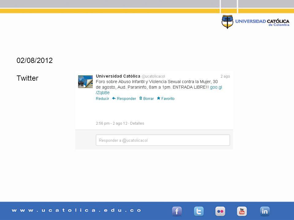 02/08/2012 Twitter