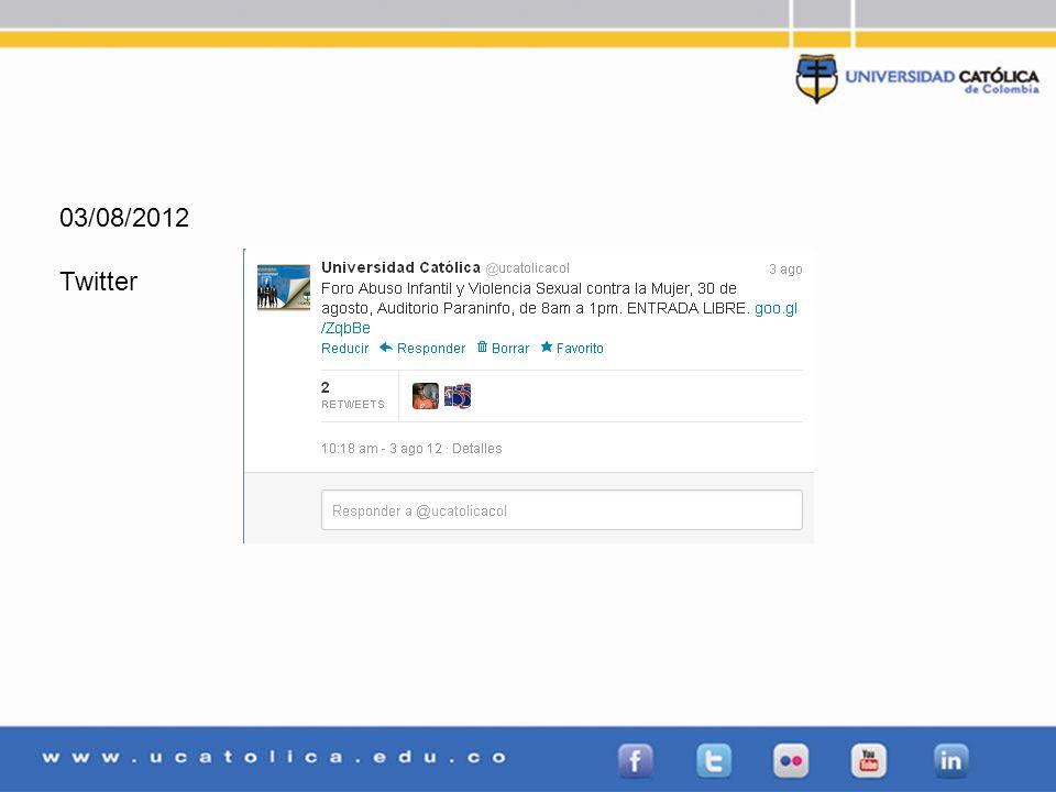03/08/2012 Twitter