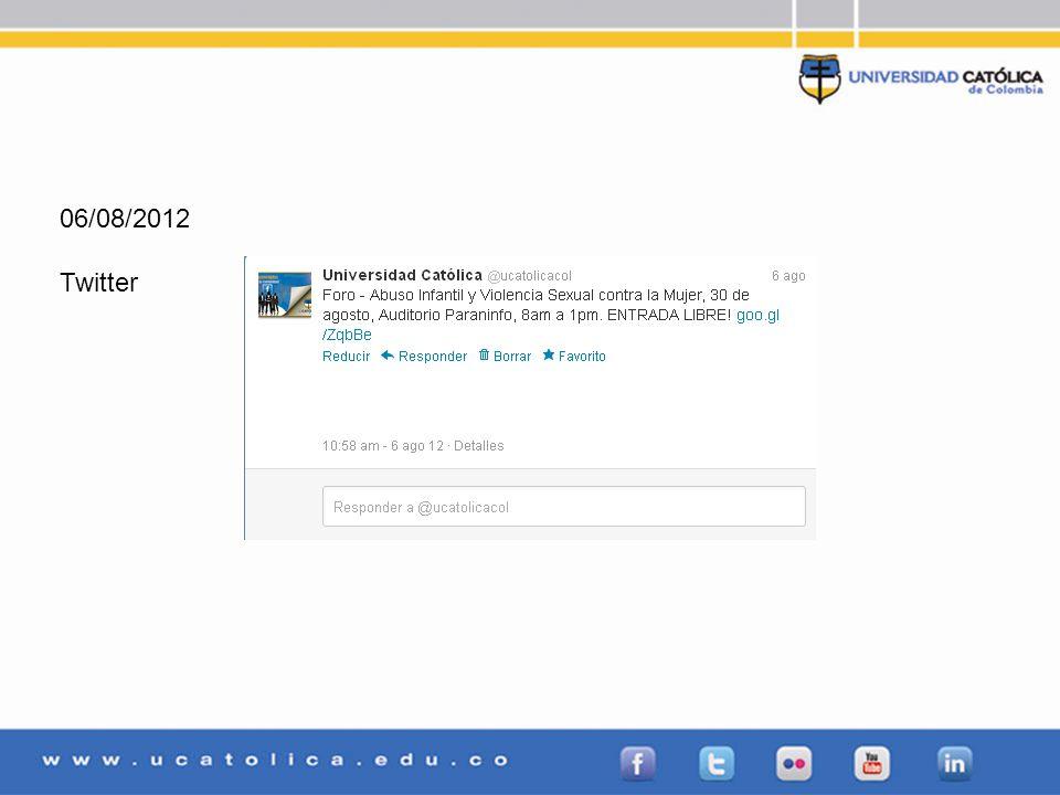 06/08/2012 Twitter