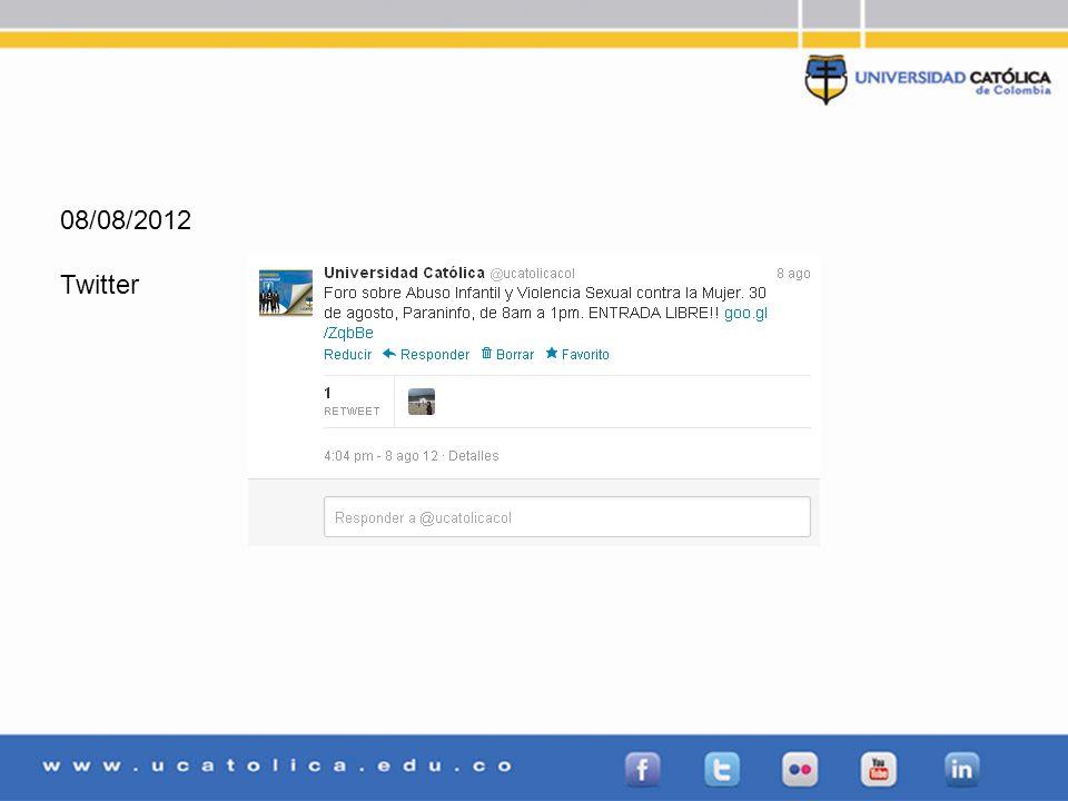 08/08/2012 Twitter