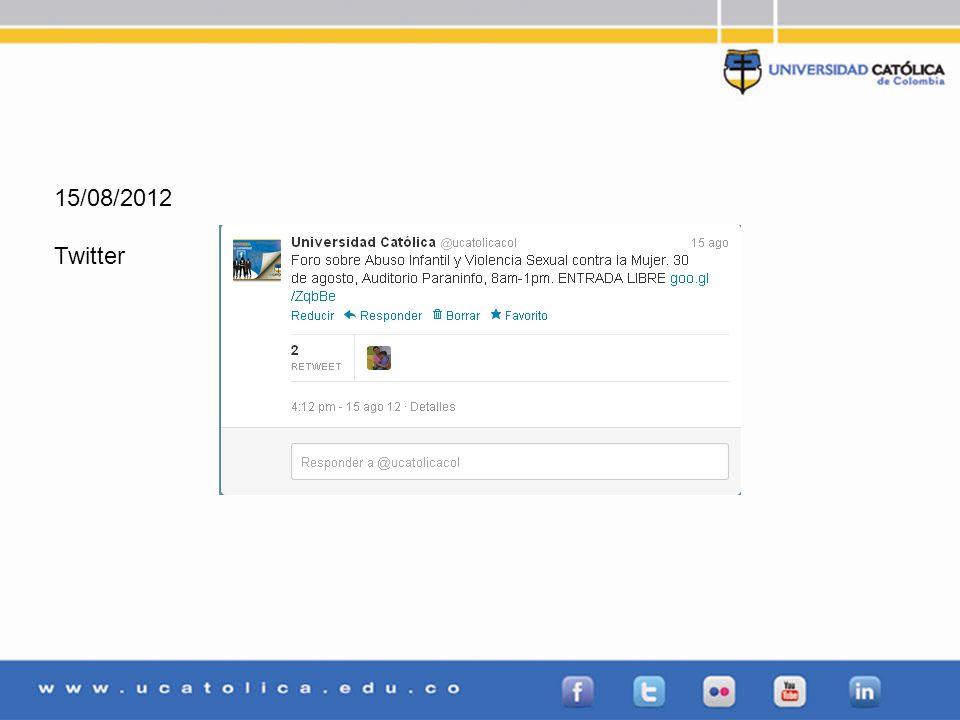 15/08/2012 Twitter