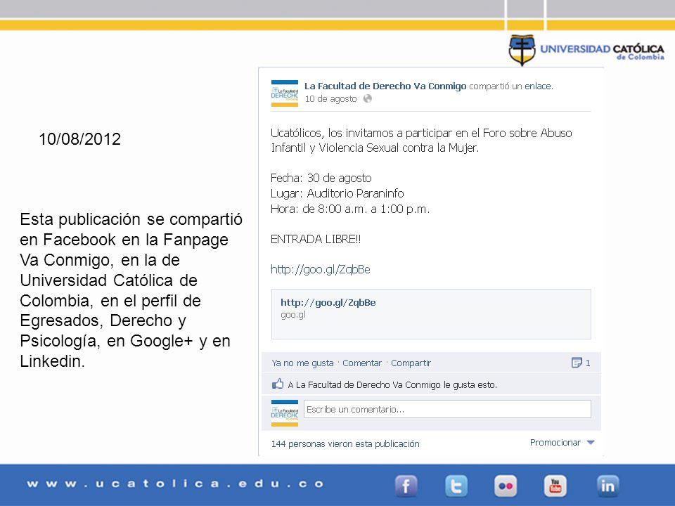 02/08/2012Google+1 03/08/2012Google+2 06/08/2012Google+1 08/08/2012Google+1 10/08/2012Google+1 15/08/2012Google+1 21/08/2012Google+1 22/08/2012Google+1 23/08/2012Google+2 24/08/2012Google+1 27/08/2012Google+1 28/08/2012Google+2 29/08/2012Google+2 02/08/2012Linkedin1 03/08/2012Linkedin2 06/08/2012Linkedin1 08/08/2012Linkedin1 10/08/2012Linkedin1 15/08/2012Linkedin1 21/08/2012Linkedin1 22/08/2012Linkedin1 23/08/2012Linkedin1 24/08/2012Linkedin1 27/08/2012Linkedin1 28/08/2012Linkedin2 29/08/2012Linkedin2 TOTAL7179 Total publicaciones: 71 Total me gusta y retweets: 79
