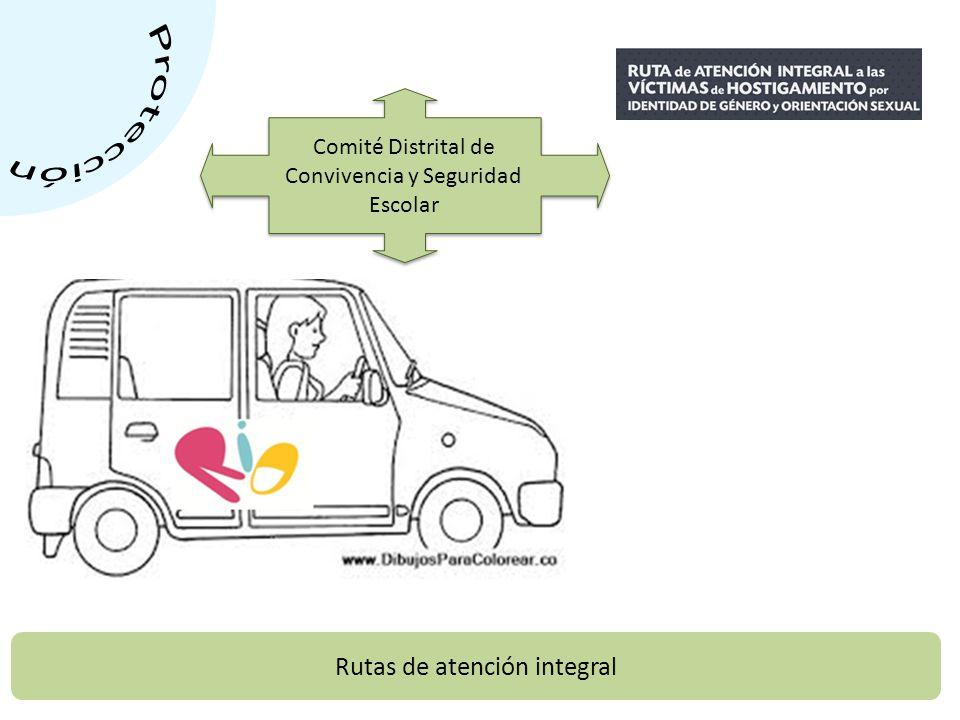 Rutas de atención integral Comité Distrital de Convivencia y Seguridad Escolar