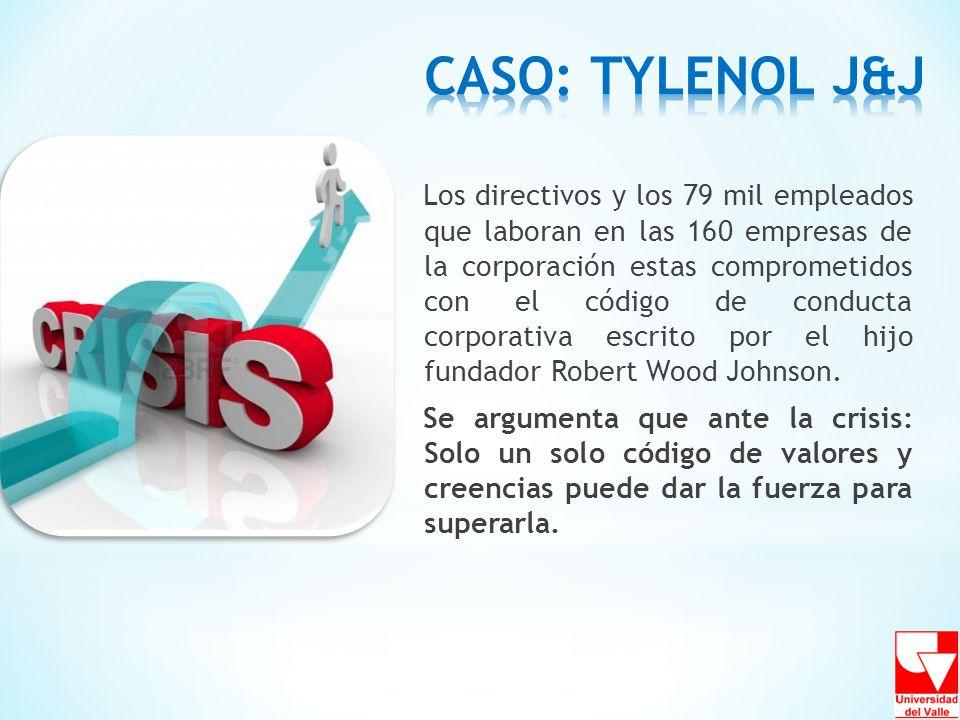 Los directivos y los 79 mil empleados que laboran en las 160 empresas de la corporación estas comprometidos con el código de conducta corporativa escr