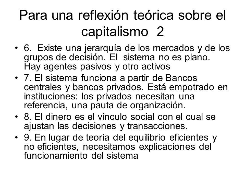 Elementos para la nueva teoría Teoría del funcionamiento de una economía monetaria con empresarios, banqueros y asalariados.