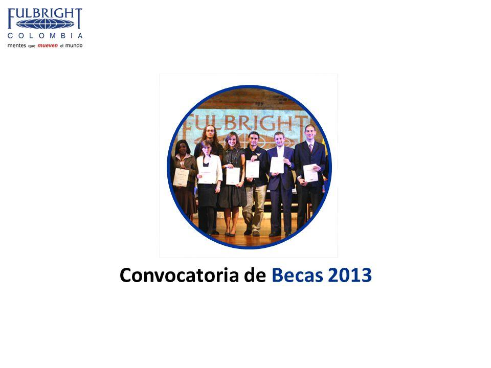 Convocatoria de Becas 2013
