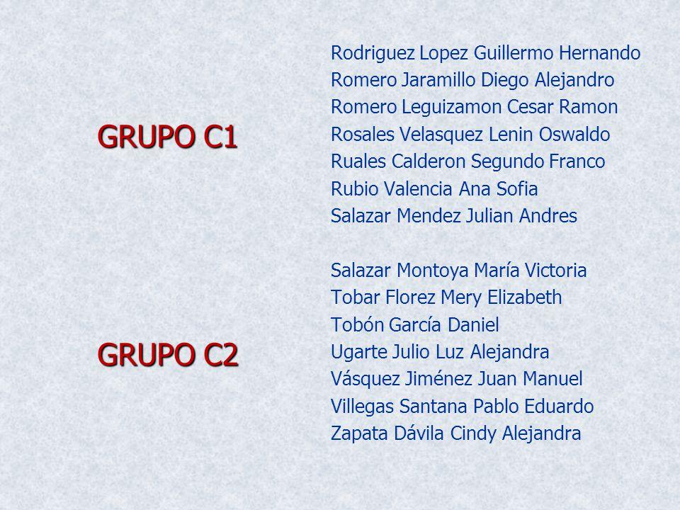 Rodriguez Lopez Guillermo Hernando Romero Jaramillo Diego Alejandro Romero Leguizamon Cesar Ramon Rosales Velasquez Lenin Oswaldo Ruales Calderon Segu