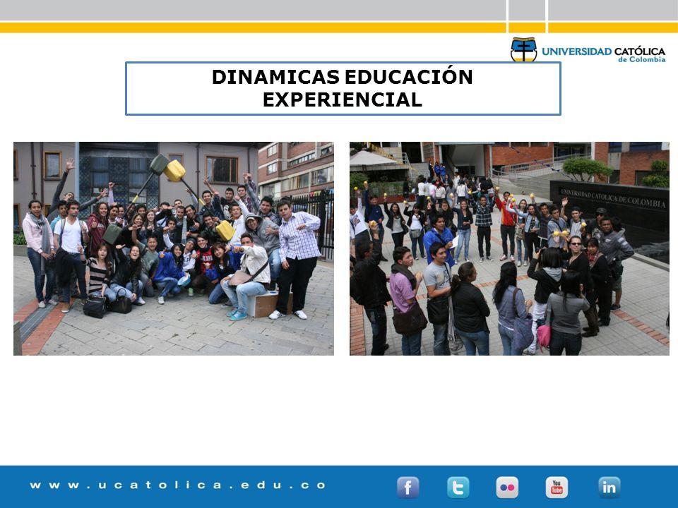 DINAMICAS EDUCACIÓN EXPERIENCIAL