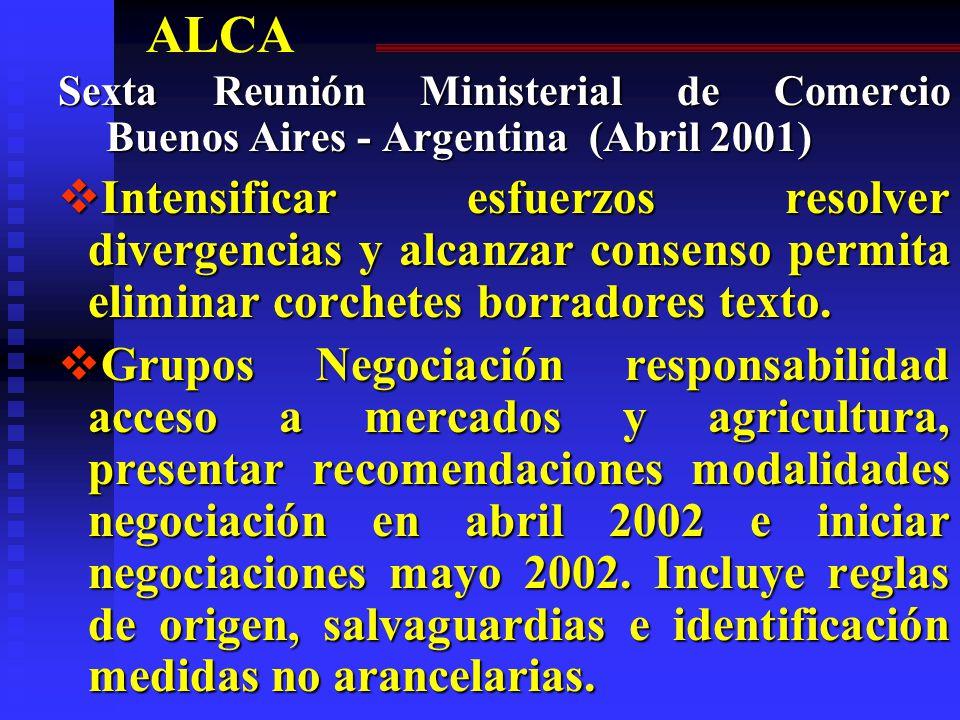 ALCA – San José 1998 PRINCIPIOS GENERALES DE LAS NEGOCIACIONES j.