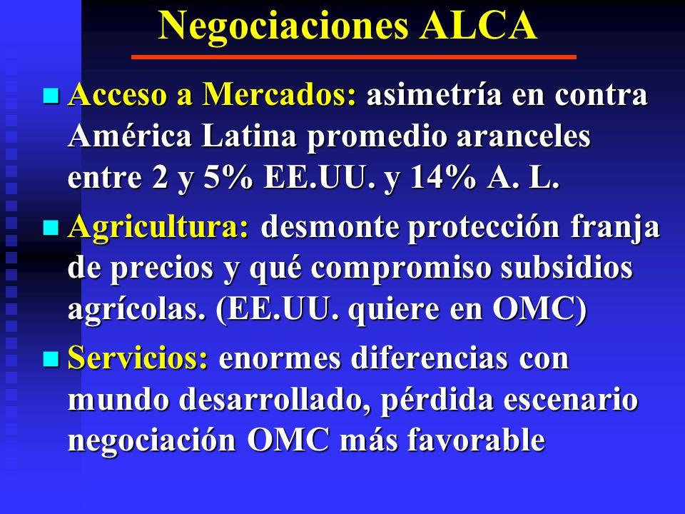 POLITICA EXTERIOR CAN VENEZUELA: SUDAMERICA Y BRASIL, RECHAZO ALCA, PLAN COLOMBIA Y MODELO.