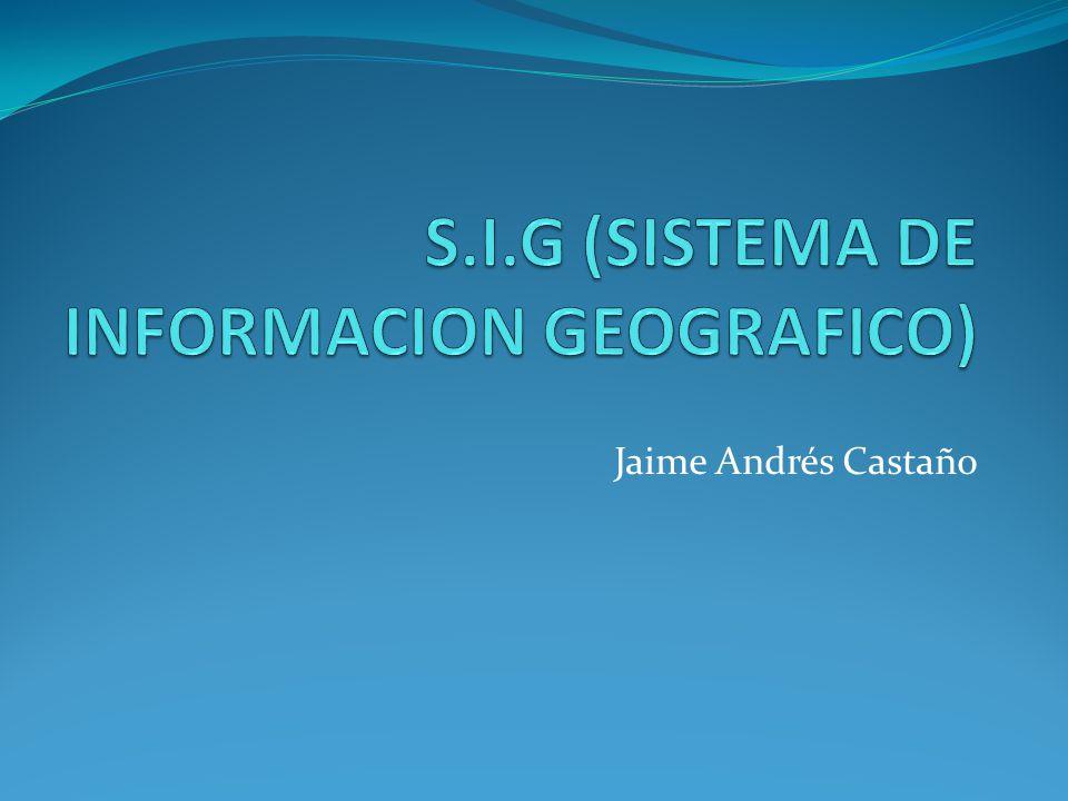 SIG móviles: Los Sistemas de Información Geográfica también han dado el salto a los dispositivos móviles (PDA, Smartphone, TabletPC, etc.).
