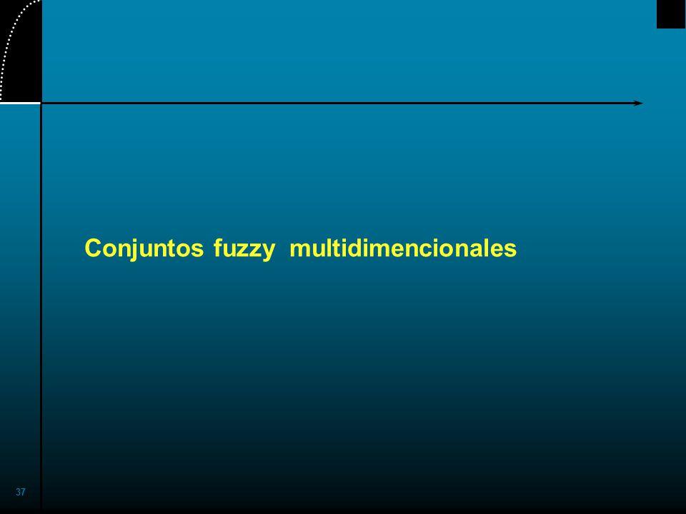 37 Conjuntos fuzzy multidimencionales