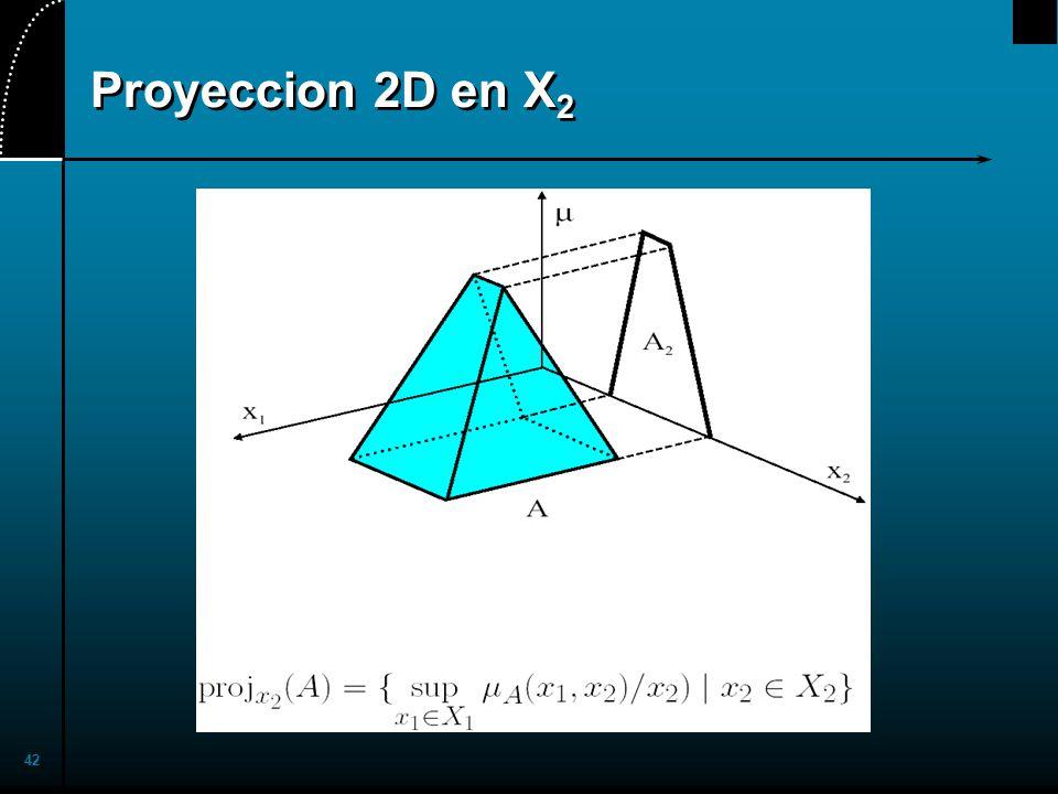 42 Proyeccion 2D en X 2