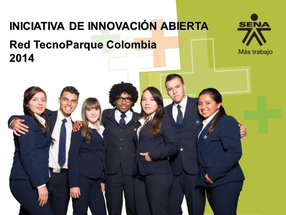 INICIATIVA DE INNOVACIÓN ABIERTA Red TecnoParque Colombia 2014