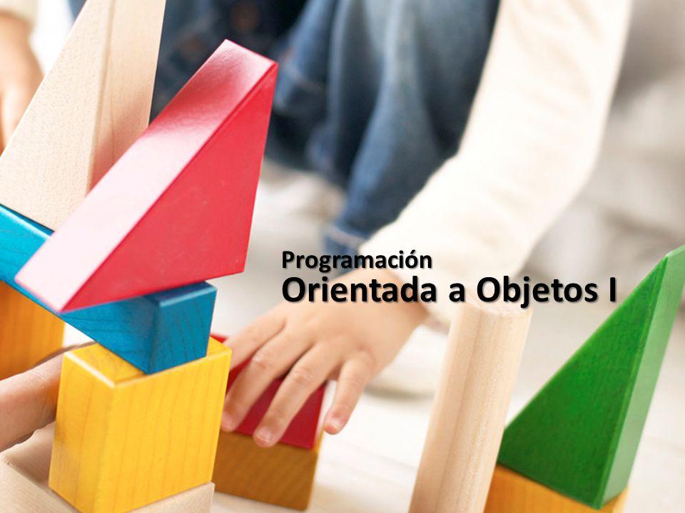 Orientada a Objetos I Programación