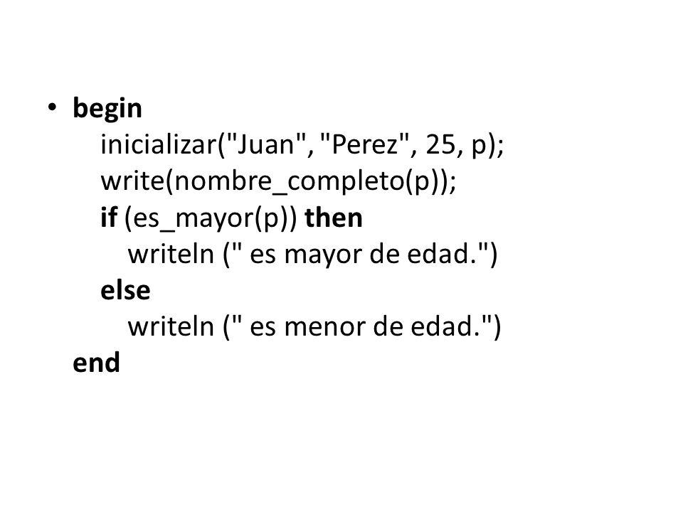 begin inicializar(