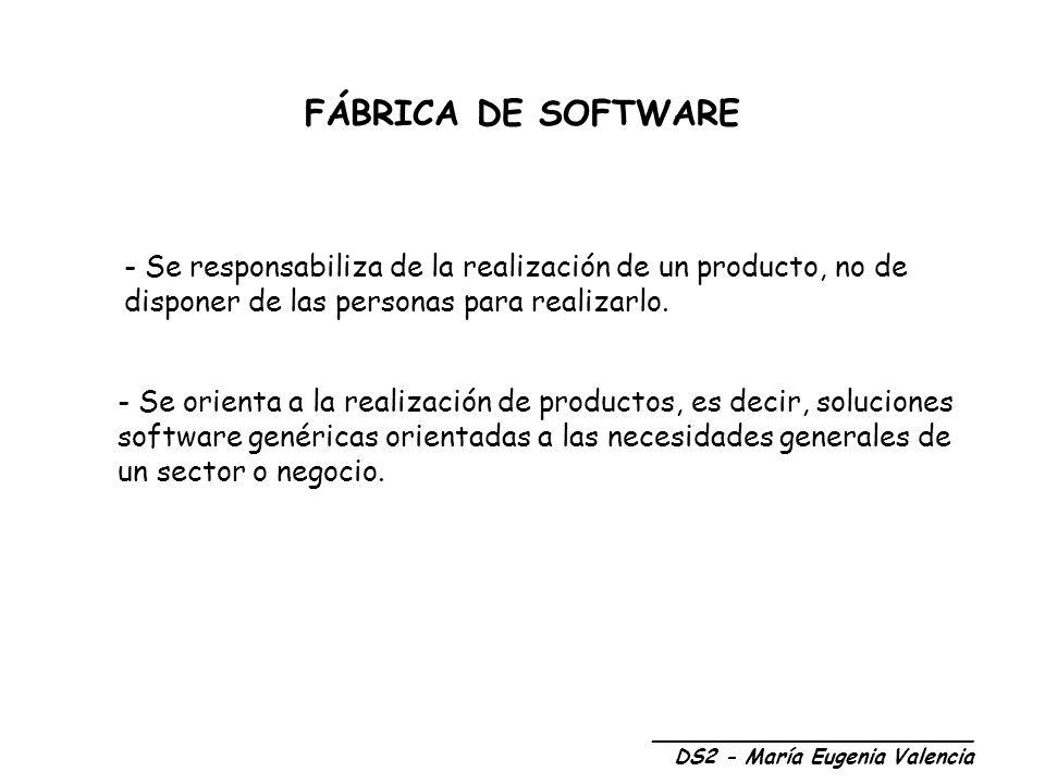 MODELO DE FÁBRICA DE SOFTWARE ORIENTADA A LA CALIDAD Recursos Humanos: El concepto clave es la profesionalización.