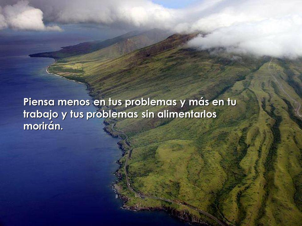 Aprende de los audaces, de los fuertes, de quien no acepta situaciones, de quien vivirá a pesar de todo.