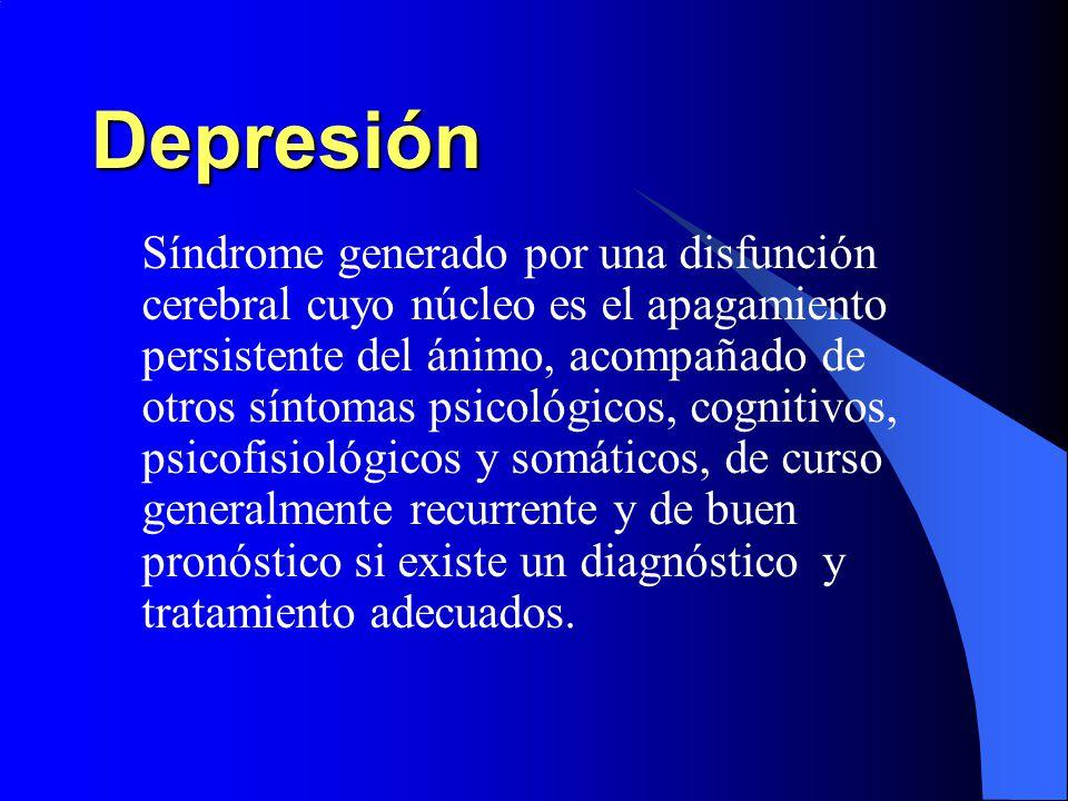 Síntomas emocionales Tristeza patológica.Anhedonia.