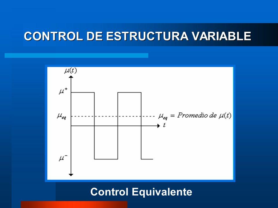 CONTROL DE ESTRUCTURA VARIABLE Control Equivalente