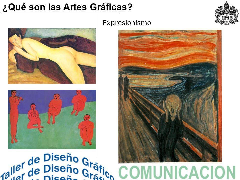 Expresionismo ¿Qué son las Artes Gráficas?
