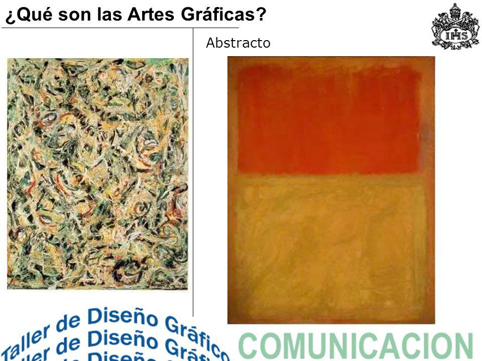 Abstracto ¿Qué son las Artes Gráficas?