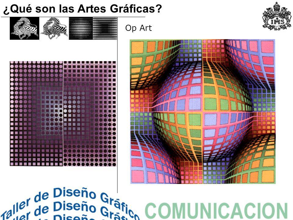 Op Art ¿Qué son las Artes Gráficas?