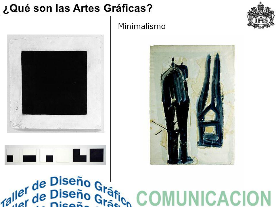Minimalismo ¿Qué son las Artes Gráficas?