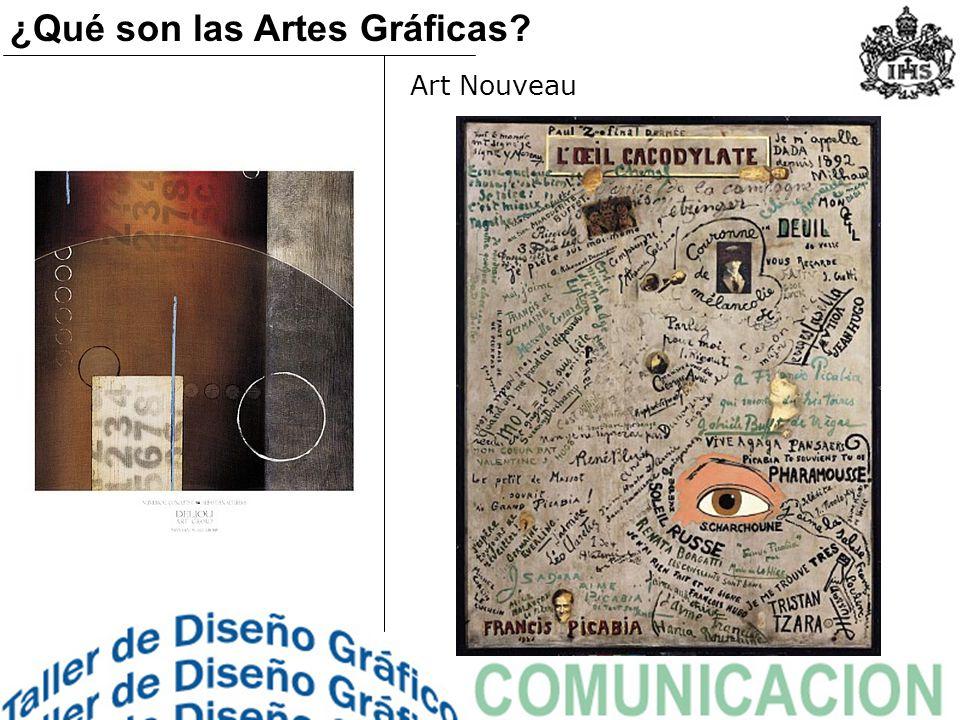 Cubismo ¿Qué son las Artes Gráficas?