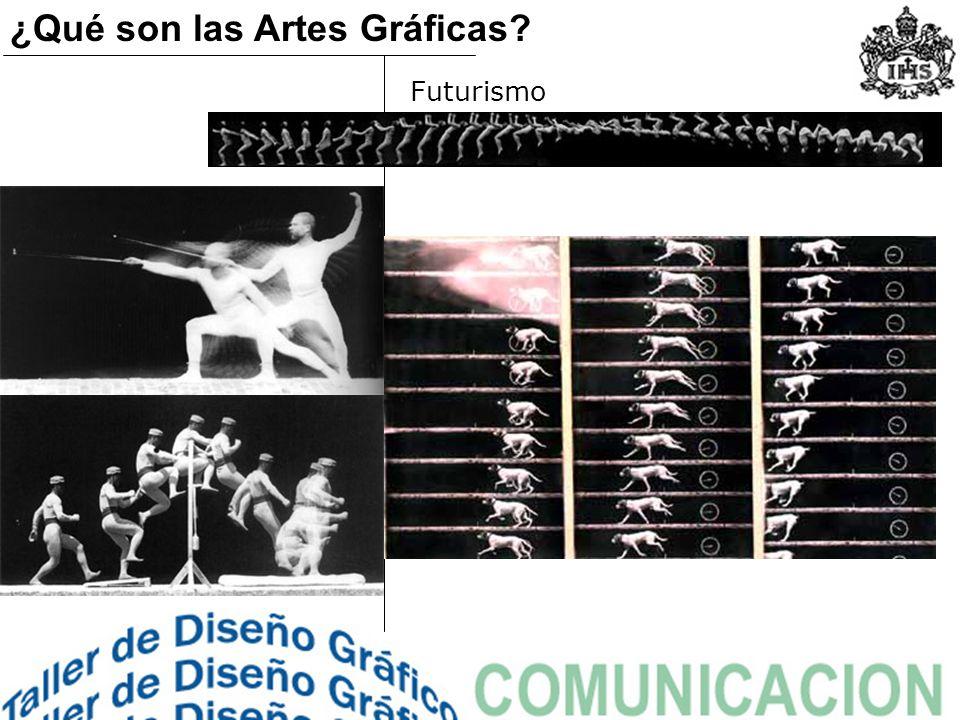 Futurismo ¿Qué son las Artes Gráficas?