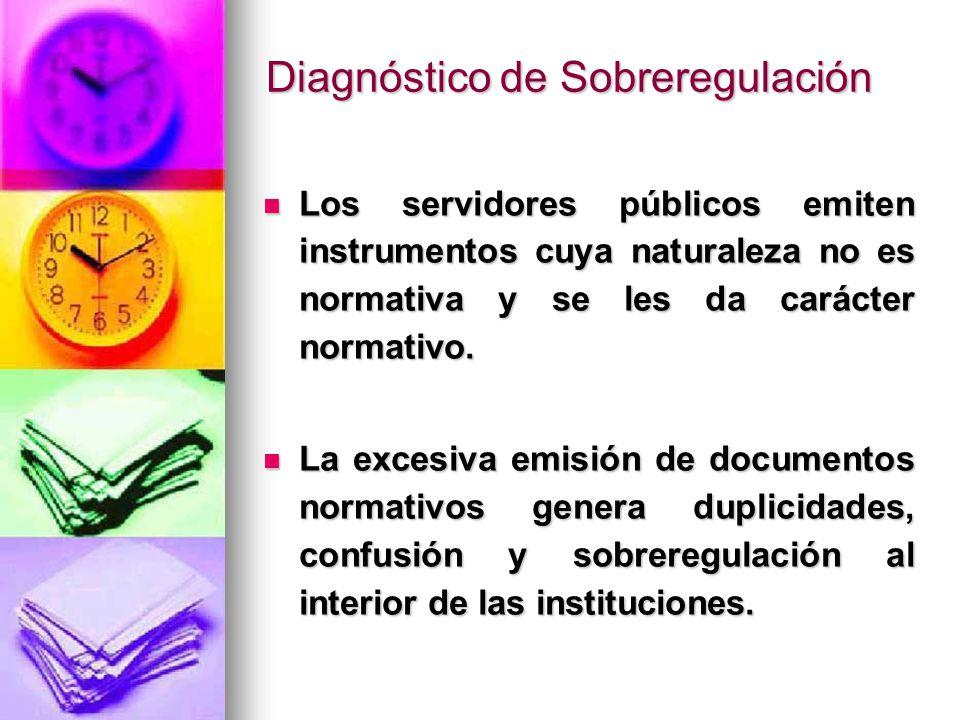 Los servidores públicos emiten instrumentos cuya naturaleza no es normativa y se les da carácter normativo. Los servidores públicos emiten instrumento