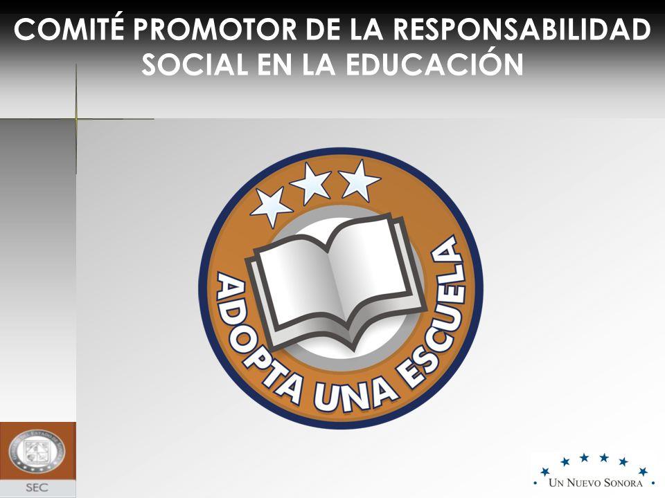COMITÉ PROMOTOR DE LA RESPONSABILIDAD SOCIAL EN LA EDUCACIÓN