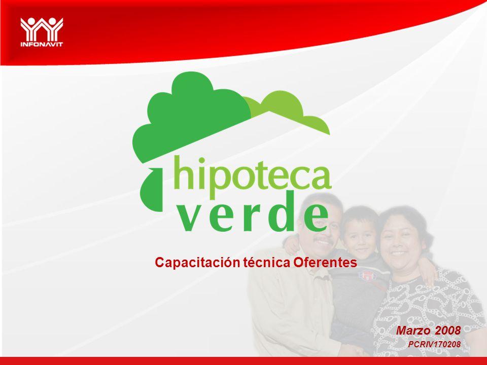 Hipoteca verde 32 Oferta de Vivienda 26.