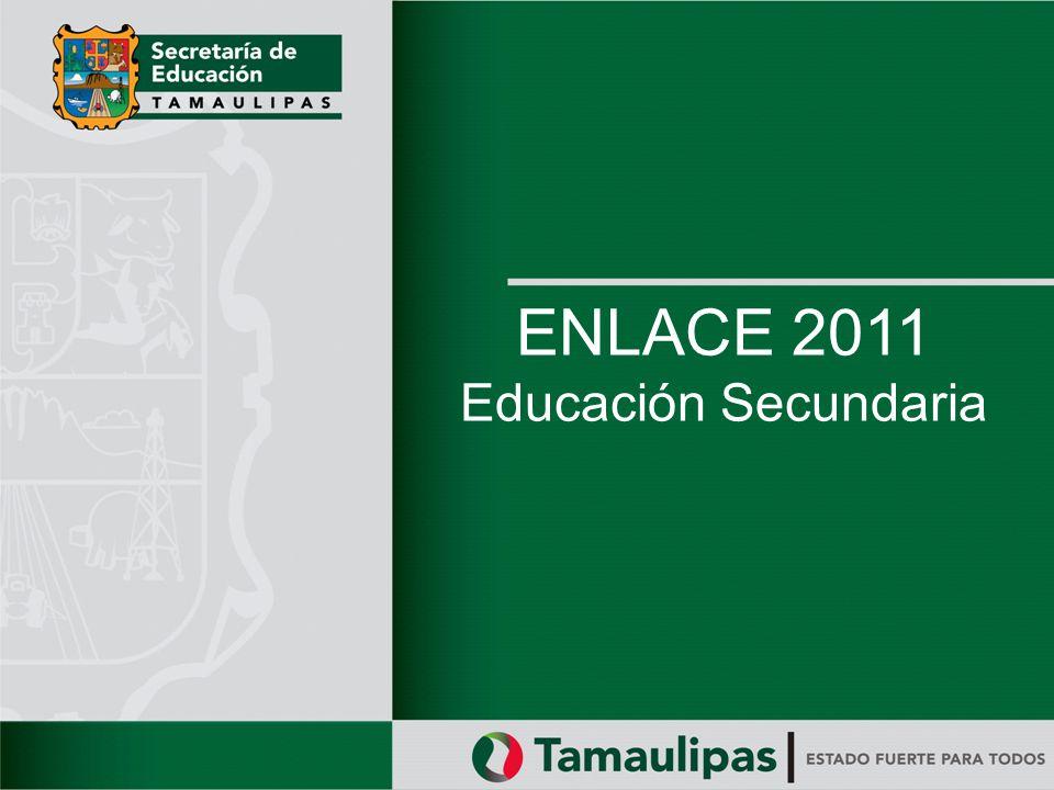 NOMBRE DE LA PRESENTACIÓN ENLACE 2011 Educación Secundaria