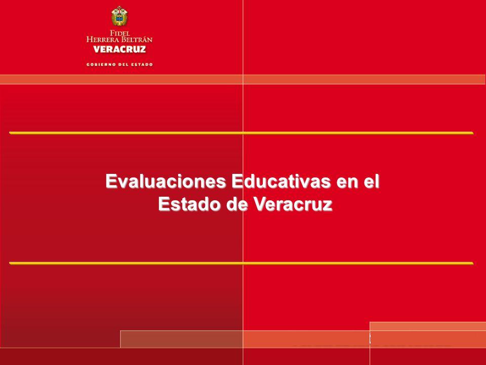 Evaluaciones Educativas en el Estado de Veracruz