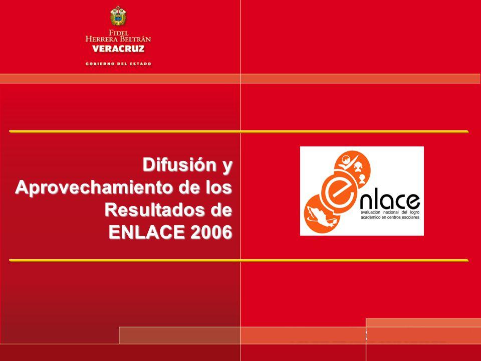Difusión y Aprovechamiento de los Resultados de ENLACE 2006