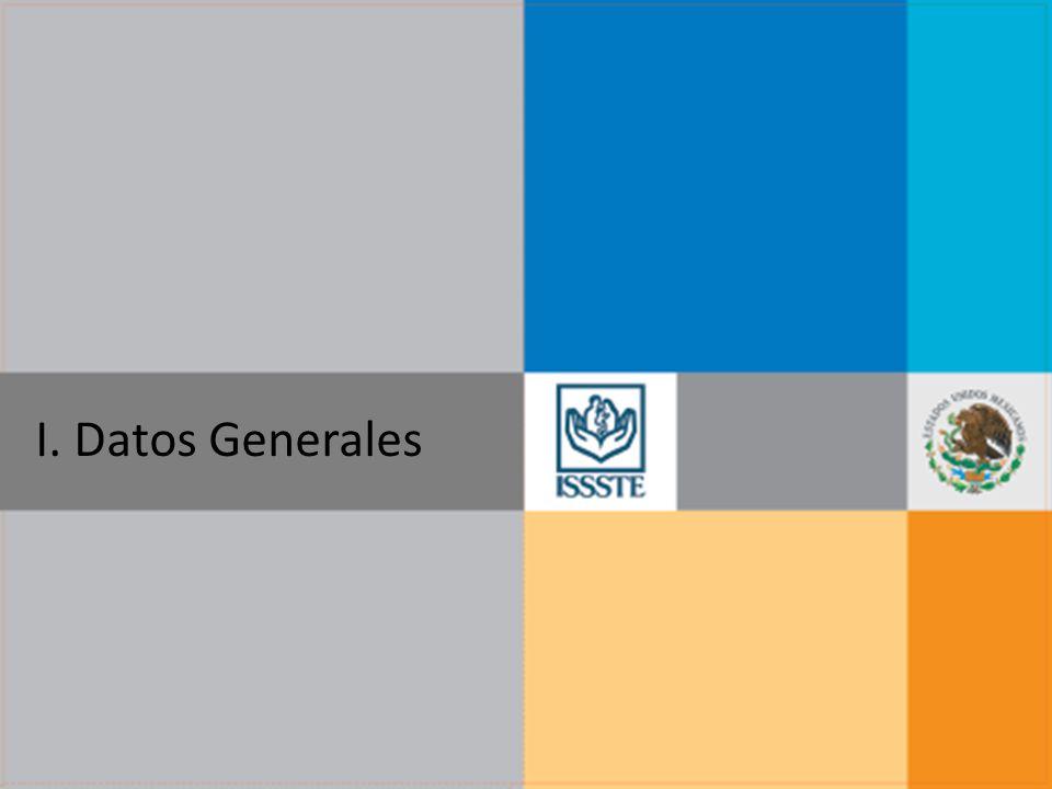 I. Datos Generales