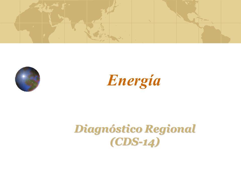 Energía Diagnóstico Regional (CDS-14)