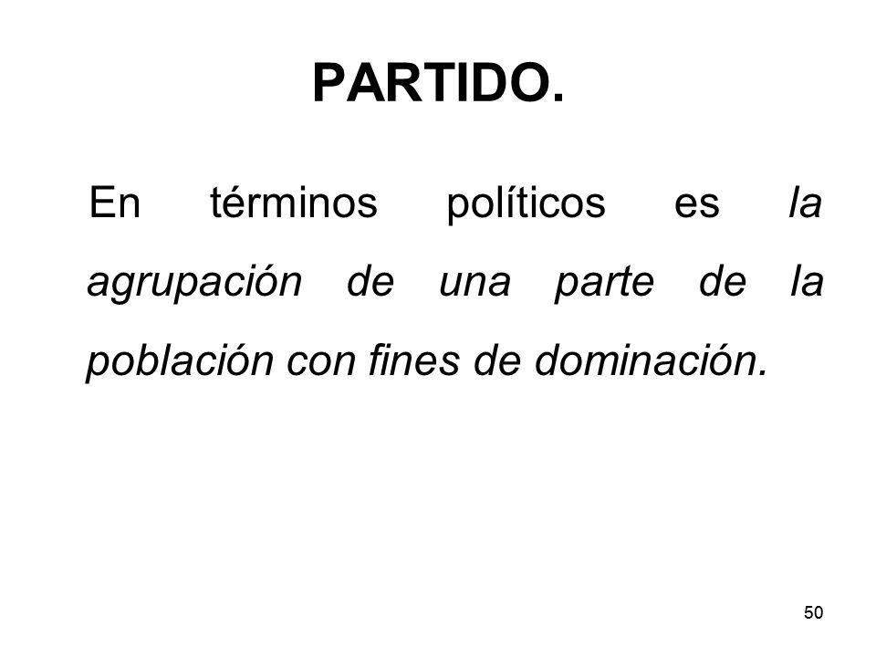 50 PARTIDO.