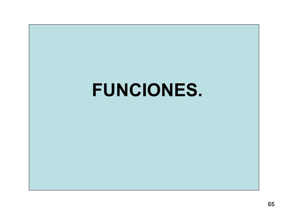 65 FUNCIONES.
