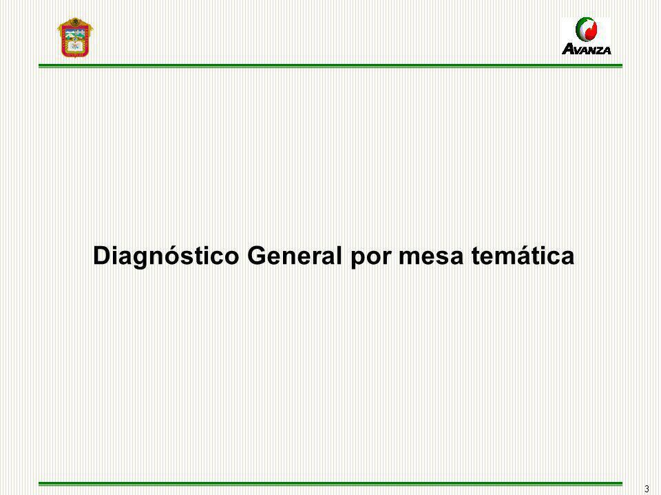 3 Diagnóstico General por mesa temática