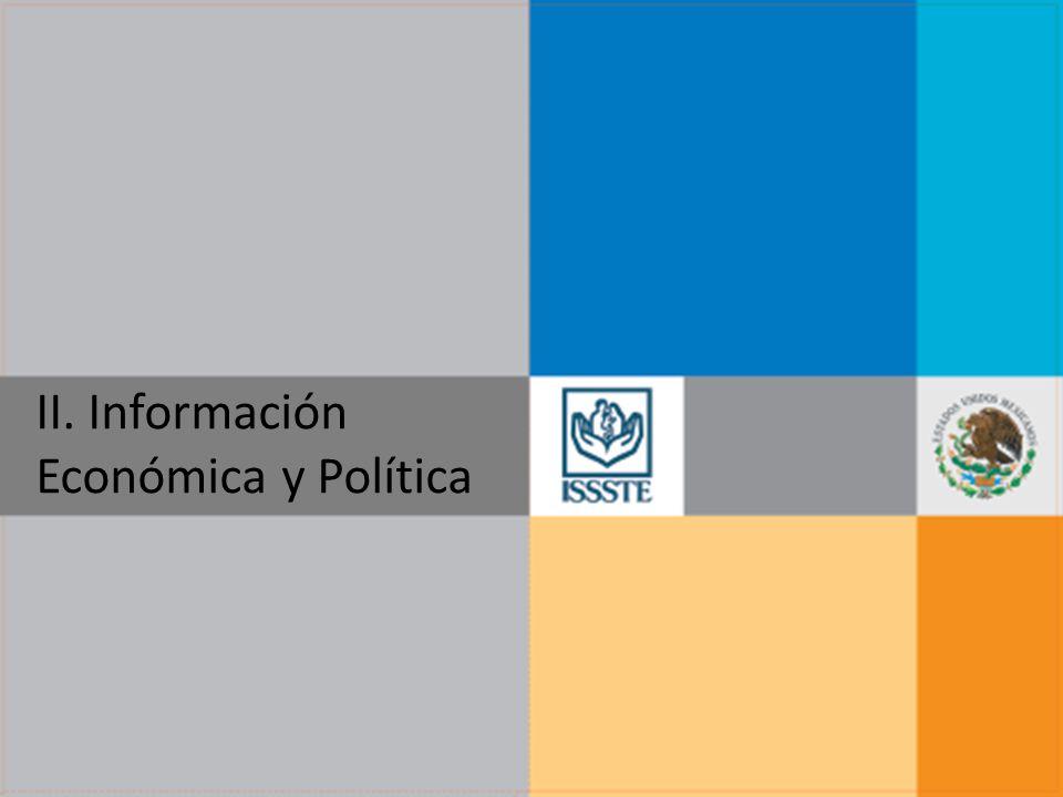 II. Información Económica y Política