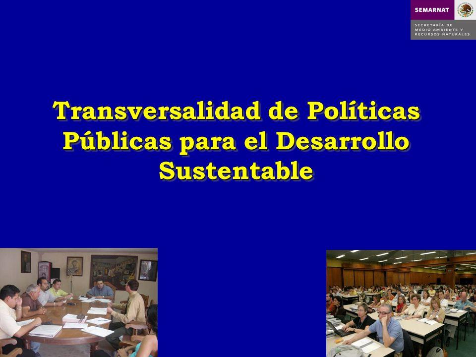 Transversalidad de Políticas Públicas para el Desarrollo Sustentable