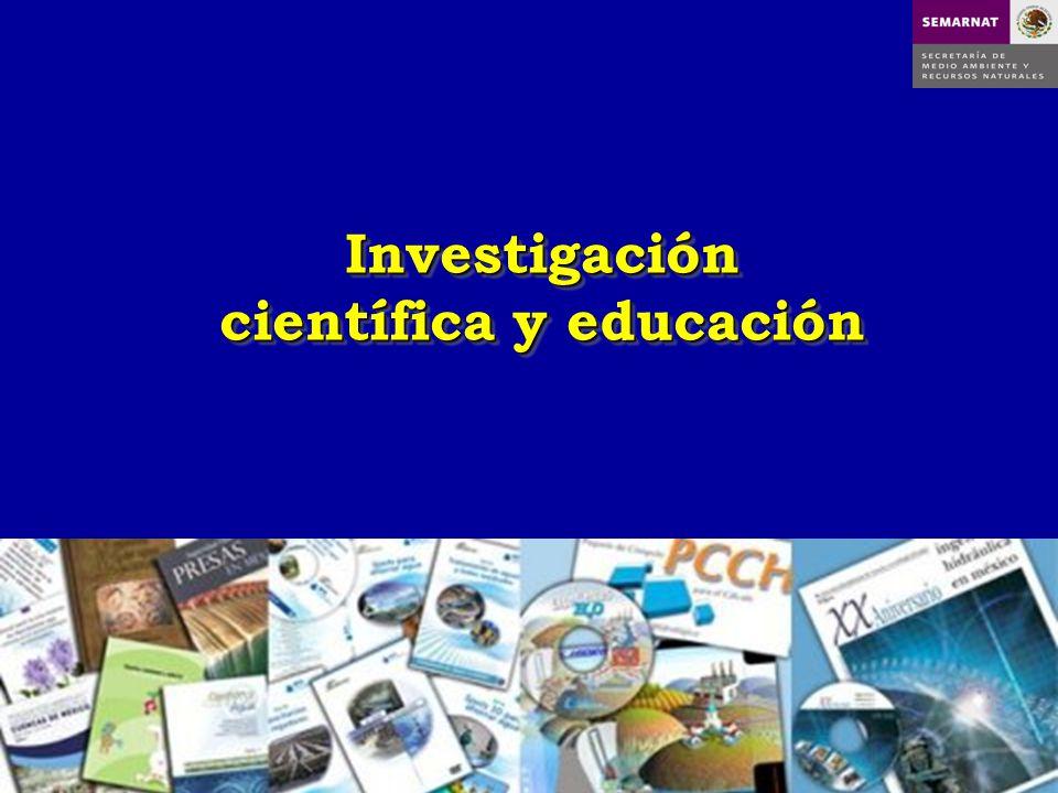Investigación científica y educación