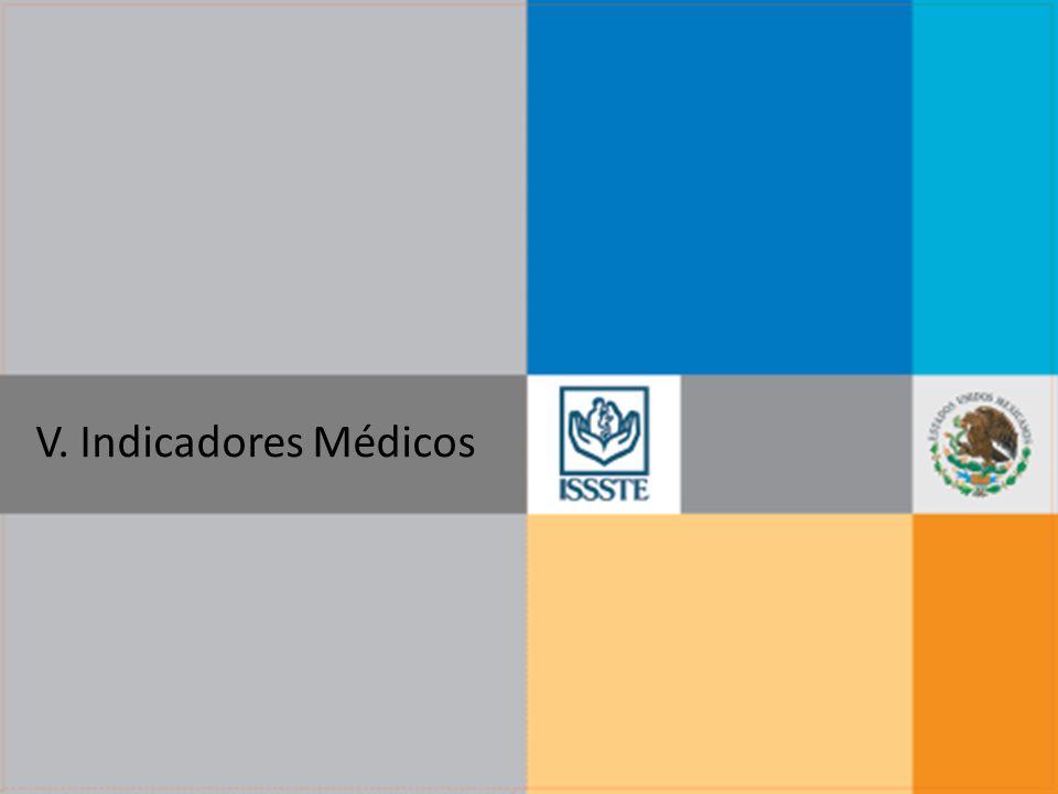 V. Indicadores Médicos