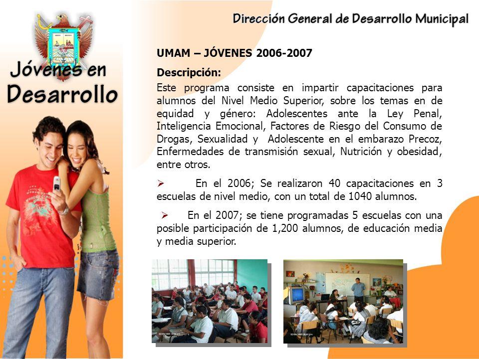 FUENTE DE INFORMACIÓN PARA LA JUVENTUD Descripción: Generar Información de utilidad para la población de jovenes del municipio de La Paz, así como ponerla a disposicion en materiales de facil acceso.