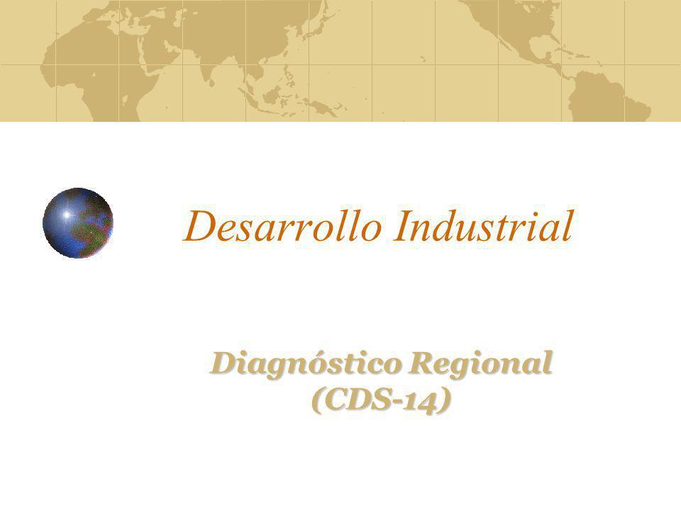 Desarrollo Industrial Diagnóstico Regional (CDS-14)